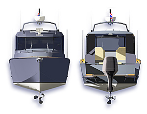 Silver Arrow 860, ProBoat Design Challenger winner