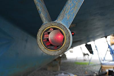 laser aligning running gear