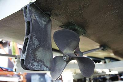 Boesch bulge rudders