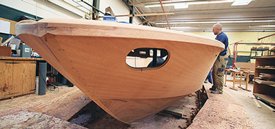 Boesch laminated hull