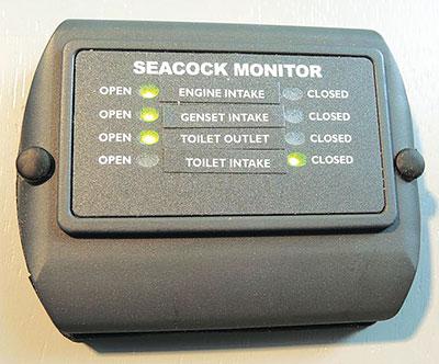 Seacock monitor