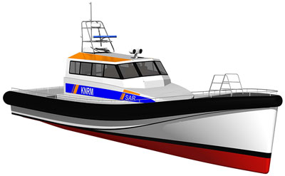 Danen rescue boat