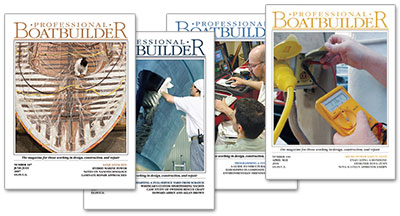 Professional BoatBuilder magazine covers