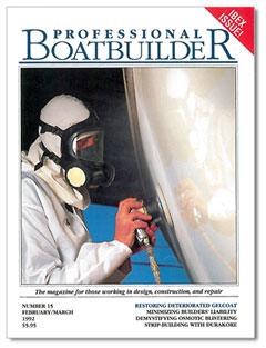 Professional BoatBuilder No. 15 cover.