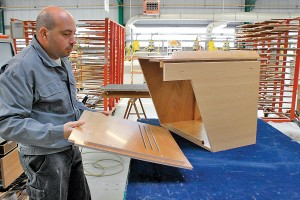 Furniture can be delivered as a precut kit or as a finished module ready to install.
