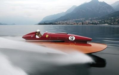 hydroplane raceboat