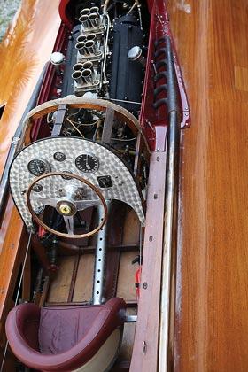 hydroplane raceboat cockpit