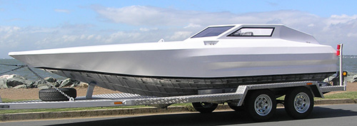 High performance stepped hull