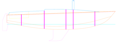 Arrangement for Aluminum Cruising Yacht