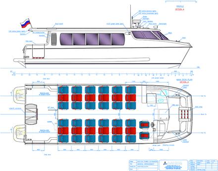 ASV 1100 lines drawing
