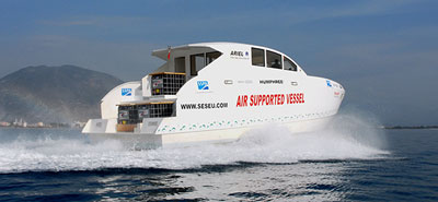 Air Supported Vessel