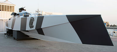Danen special forces boat