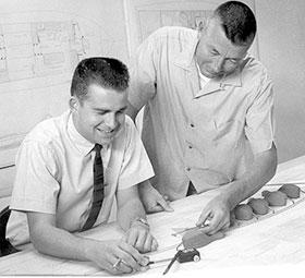 Ken Hankinson and Glen Witt